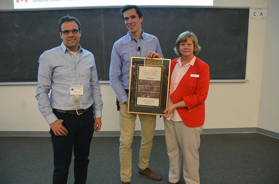 Le professeur Étienne Yergeau remporte le prix Fisher Scientific 2017