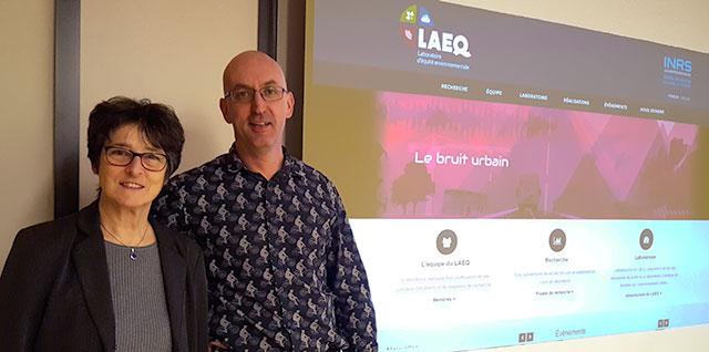 Anne-Marie Séguin et Philippe Apparicio, professeurs à l'INRS