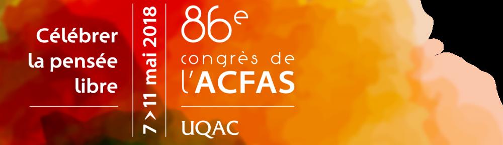 L'INRS au 86e Congrès de l'Acfas