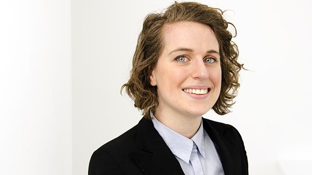 Marie-Ève Desroches, lauréate d'une bourse doctorale de la Fondation Trudeau