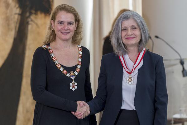 Christiane Ayotte nommée Officière de l'Ordre du Canada