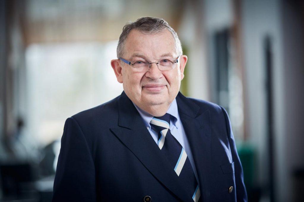Le professeur Peter Tijssen