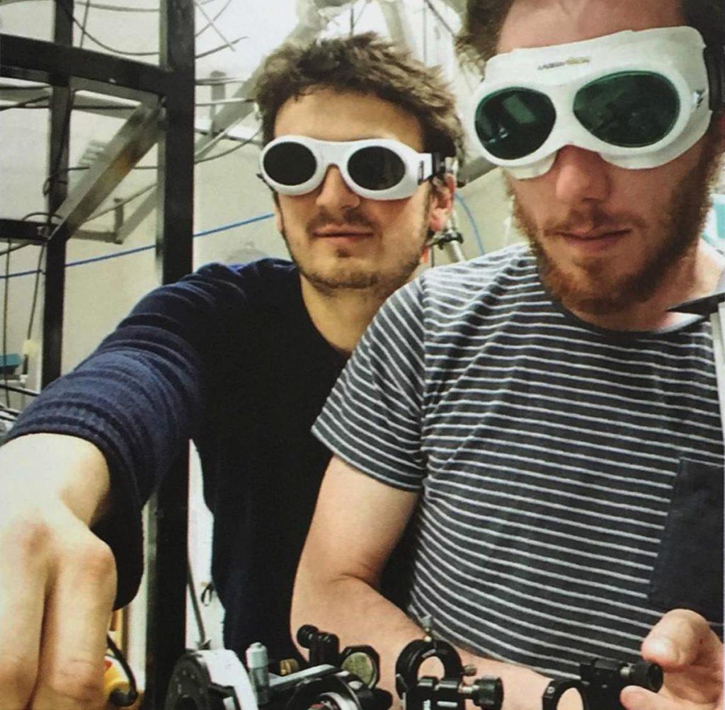 Antoine Comby et Samuel Beaulieu