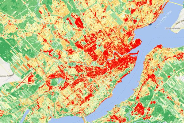 Un demi-million $ pour contrer les îlots de chaleur urbains