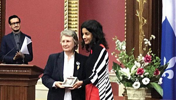 Carole Lévesque est lauréate du prix Marie-Andrée-Bertrand 2016