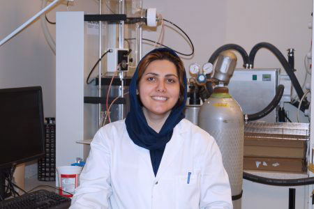 La doctorante Mitra Naghdi