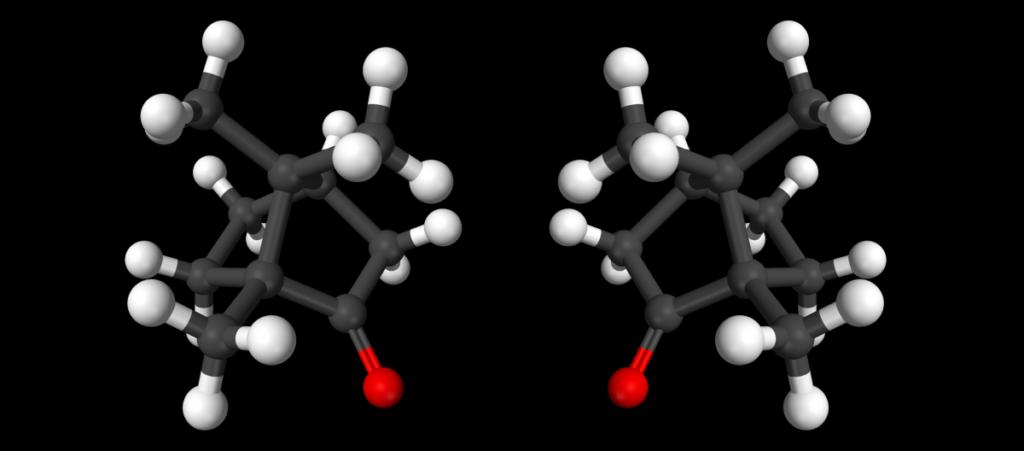 Molécules droitières ou gauchères