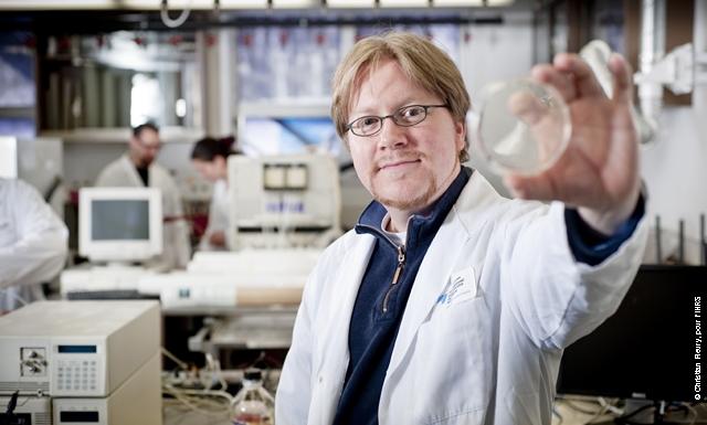 Nicolas Doucet, professeur à l'INRS