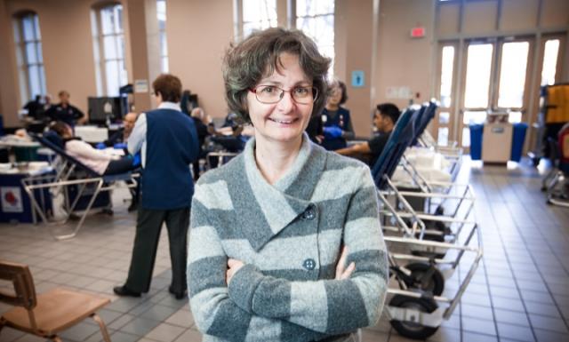 Johanne Charbonneau, professeure et titulaire Chaire de recherche sur les aspects sociaux sang