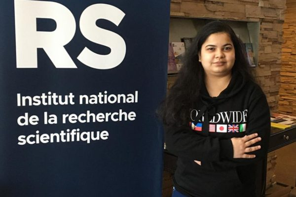 INRS Doctoral Student Receives CAWQ's Philip H. Jones Award
