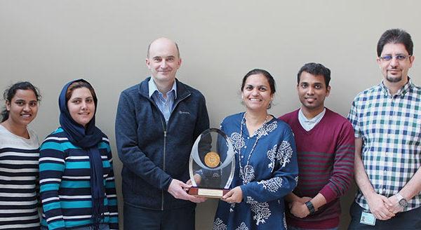 Satinder Kaur Brar receives AAEES Grand Prize for University Research