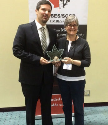 Tiago Falk receives award from Canadian Medical & Biological Engineering Society