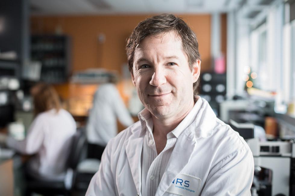 Claude Daniel, spécialiste en immunologie et professeur à l'INRS