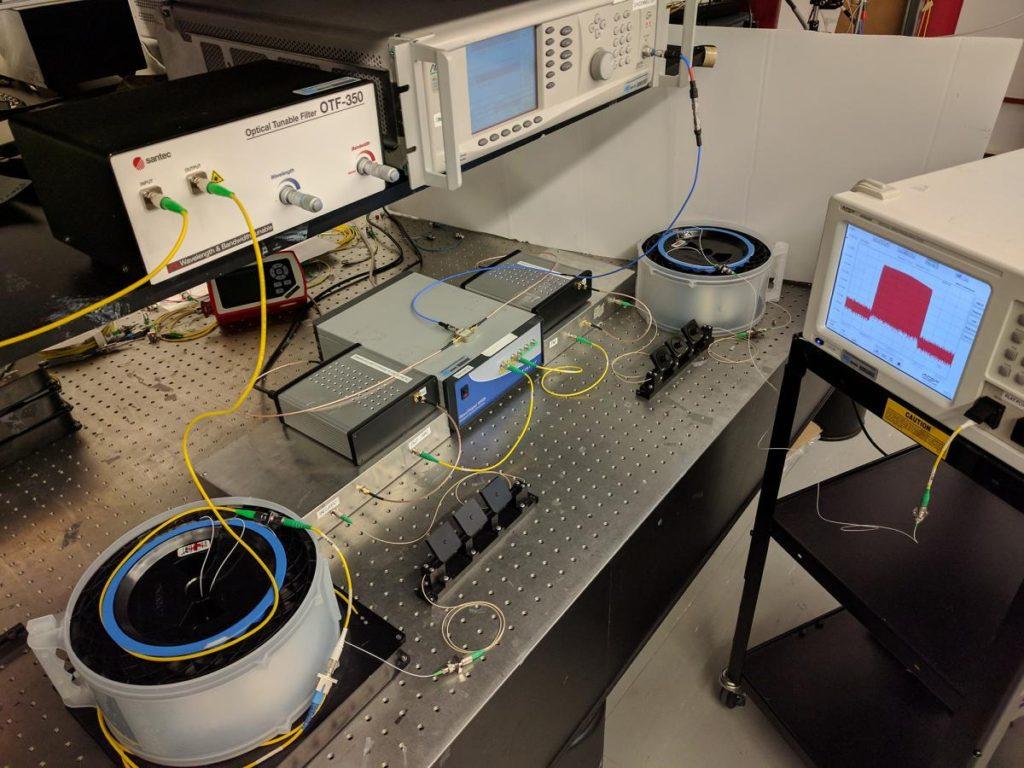 Les équipements nécessaires pour rendre invisible un objet avec l'approche conceptuelle du professeur José Azaña et de son équipe de chercheurs