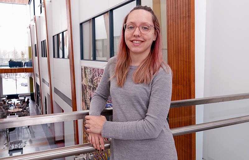 Josianne Bienvenue-Pariseault, doctorante en biologie