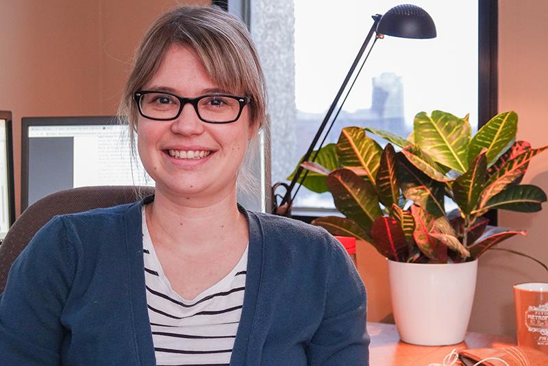 Marie-Ève Paré, stagiaire postdoctorale enanthropologie