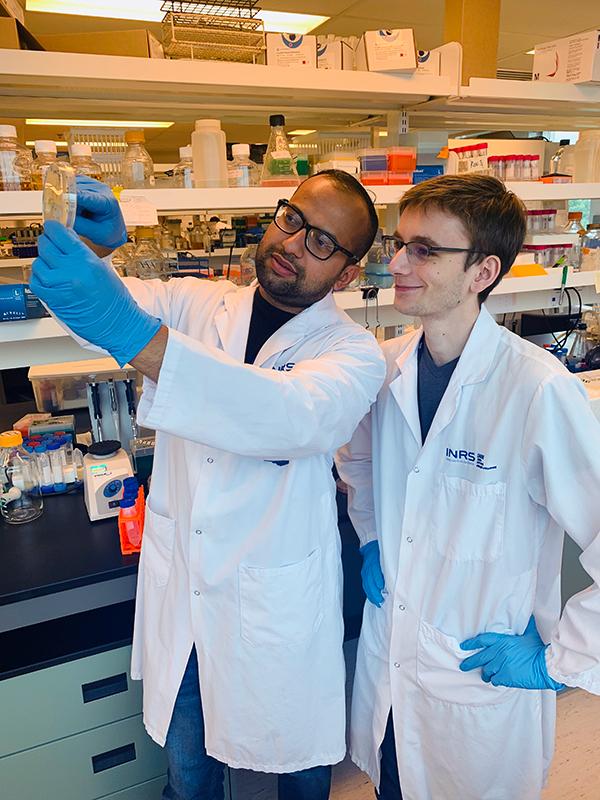Apprentis en biosciences gagne du terrain!