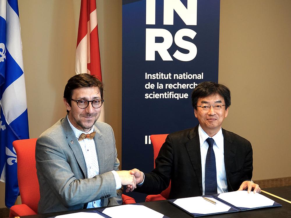 L'INRS accueille des délégations du Vietnam et du Japon