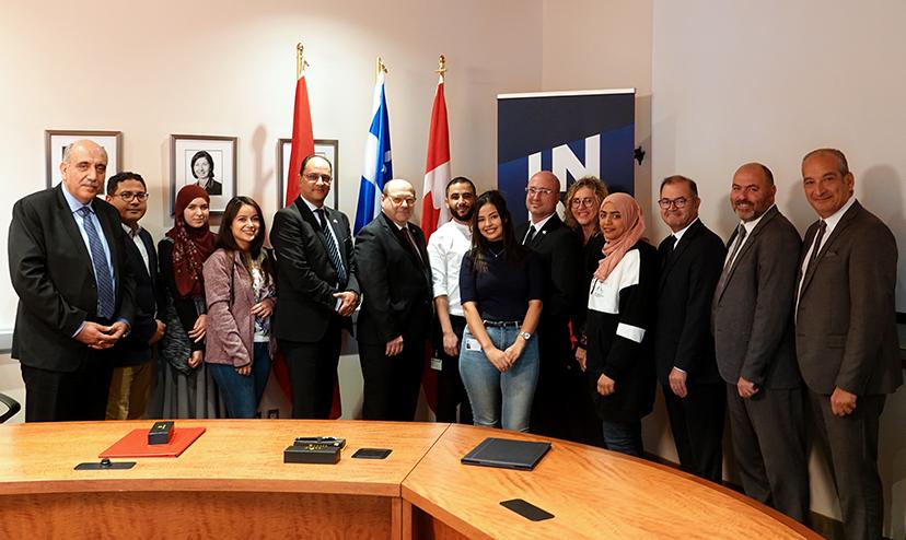 Une délégation de la Tunisie de passage à l'INRS