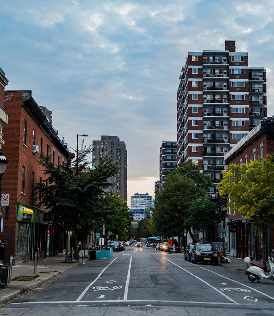 Research Theme INRS city urban dynamics