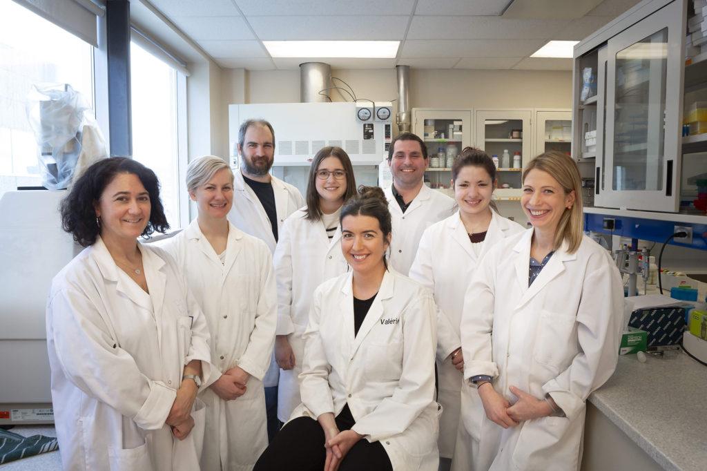 Équipe du Laboratoire d'électrotechnologies environnementales et procédés oxydatifs de l'INRS