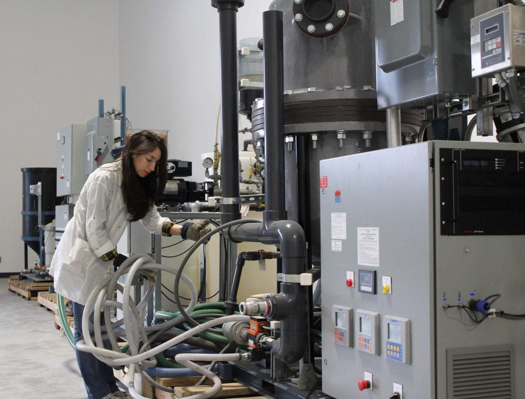 Laboratoire d'électrotechnologies environnementales et procédés oxydatifs de l'INRS