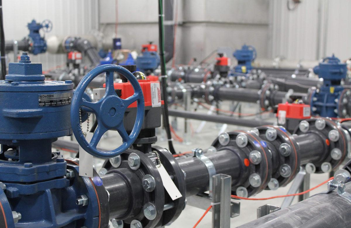 Laboratoire de gestion hydraulique des réseaux de distribution d'eau potable de l'INRS