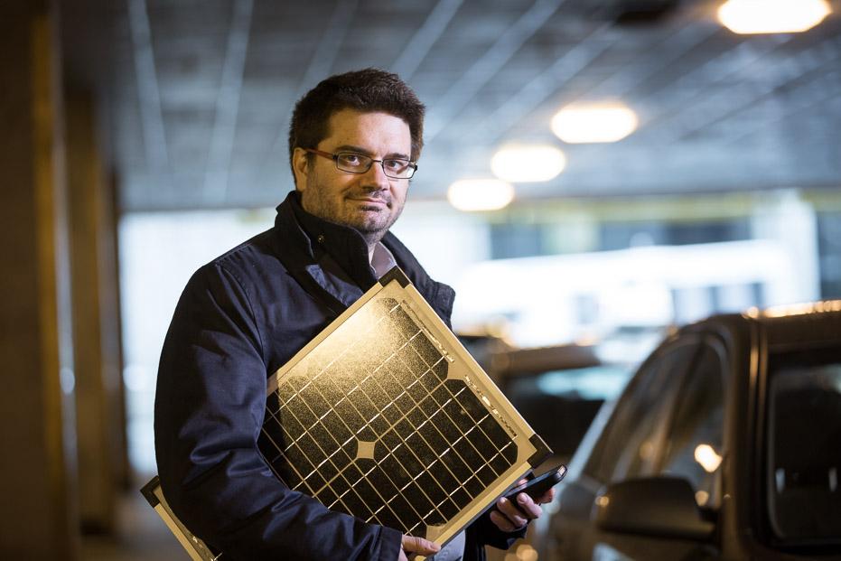 Federico Rosei, titulaire de la chaire MATECCS de l'UNESCO sur l'énergie renouvelable