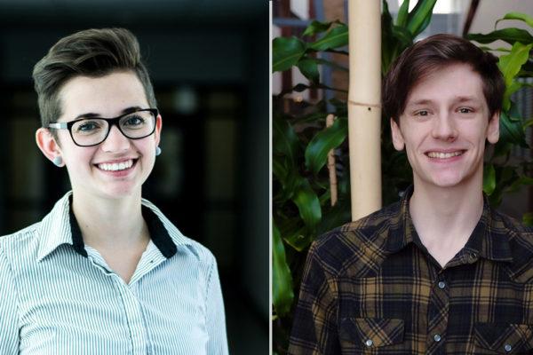Deux étudiants de l'INRS lauréats d'une bourse Vanier