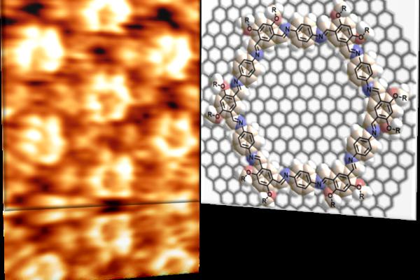 Using molecules to draw on quantum materials