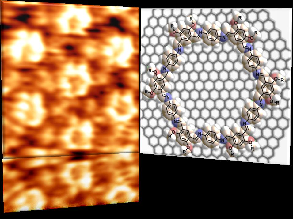 Dessiner sur des matériaux quantiques avec des molécules