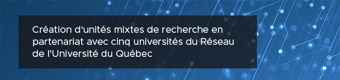 L'INRS obtient 15 M$ du gouvernement du Québec pour la recherche en région
