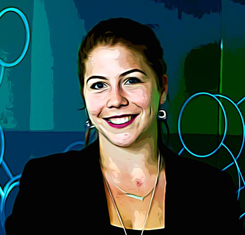 La doctorante Aurélie Devinck répond à des questions sur l'éradication des virus