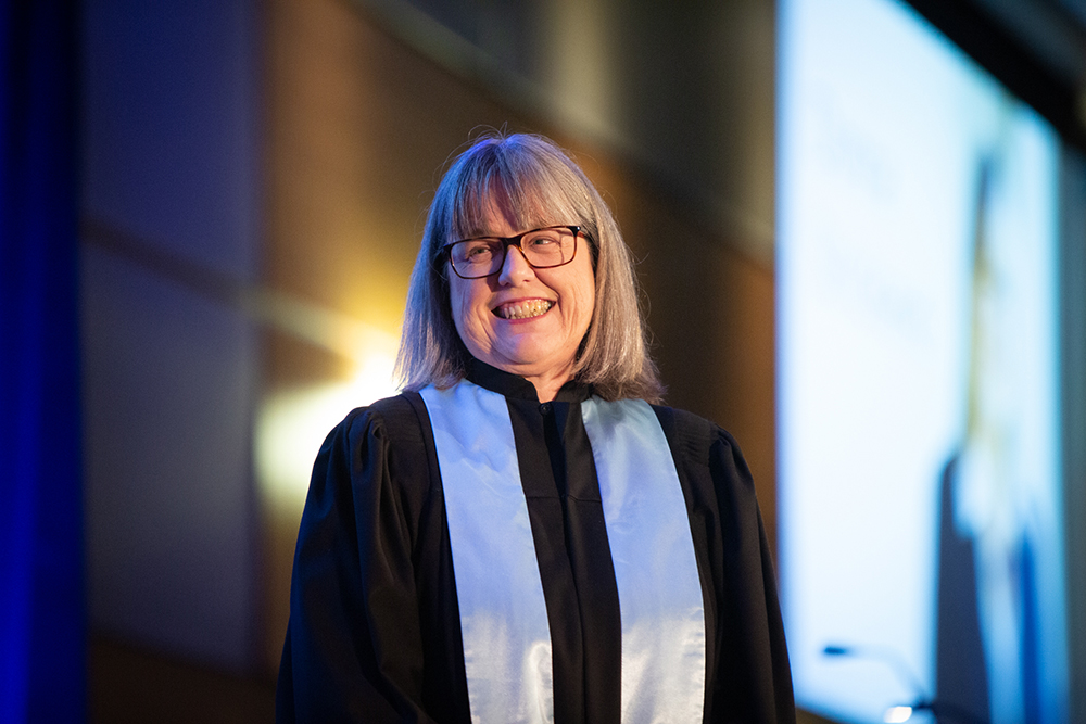 Donna Strickland Doctorat Honorifique INRS 2019