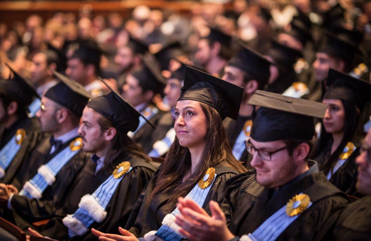 Collation des grades de l'INRS finissante diplômée