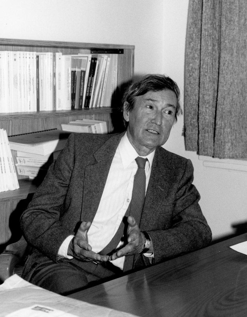 M. Fernand Dumont Novembre 1985