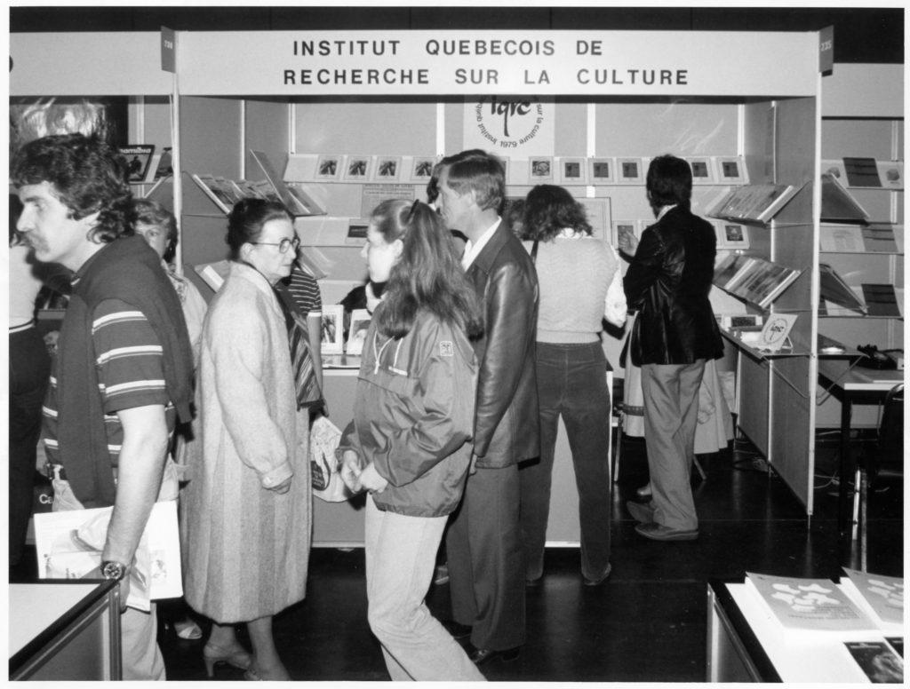 IQRC – Salon du livre de QC – Avril 1982