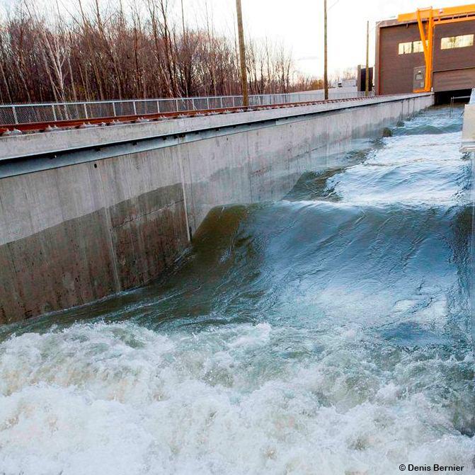 Inauguration du Laboratoire hydraulique environnemental