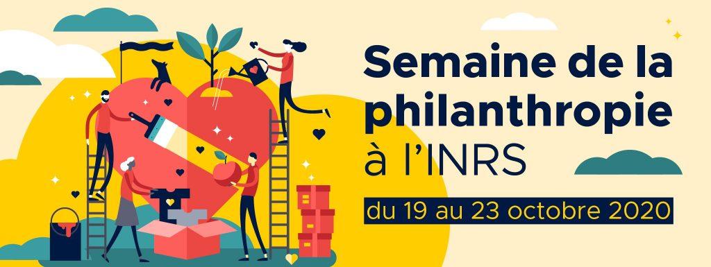 La Fondation de l'INRS invite sa communauté à une semaine de la philanthropie