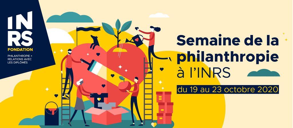 Semaine la philanthropie à l'INRS