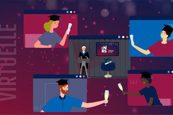 Une collation des grades virtuelle pour la cohorte 2019-2020