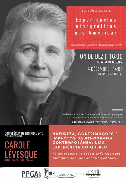 Conférence Carole Lévesque sur les Amériques