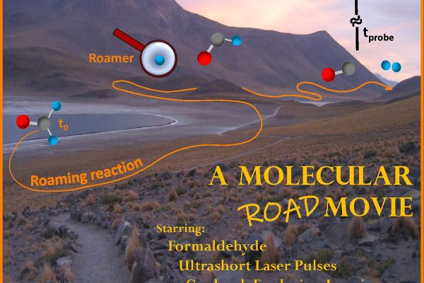 Filming roaming molecular fragments in real time