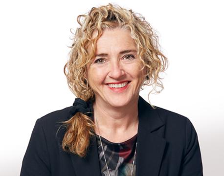 Dalida Poirier directrice du Service de la planification et des relations internationales de l'INRS