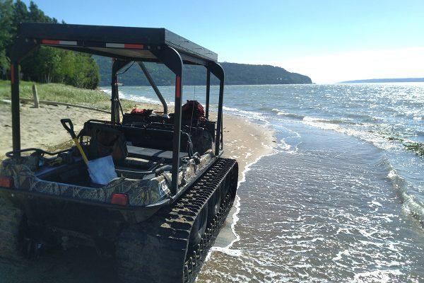 L'érosion, entre terre et mer