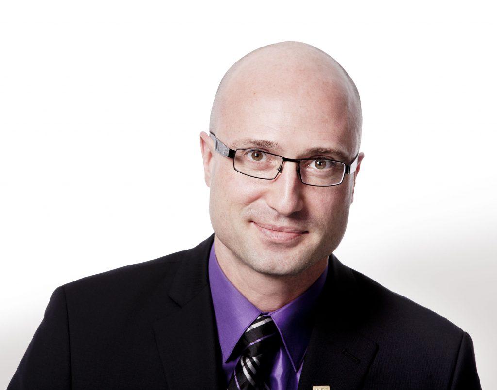 Philippe-Edwin Bélanger, directeur du Service des études supérieures et postdoctorales de l'INRS