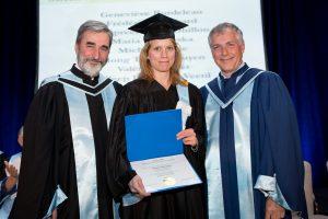 Geneviève Bordeleau diplômée INRS