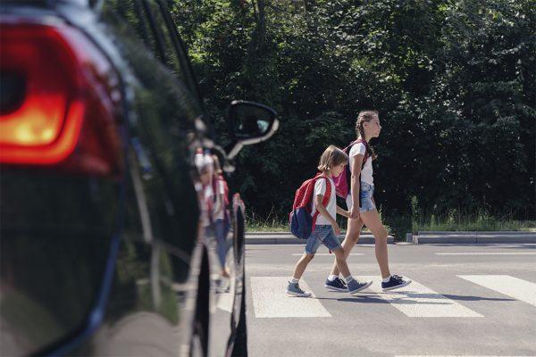 Prévention des collisions entre les jeunes piétons et les véhicules à moteur