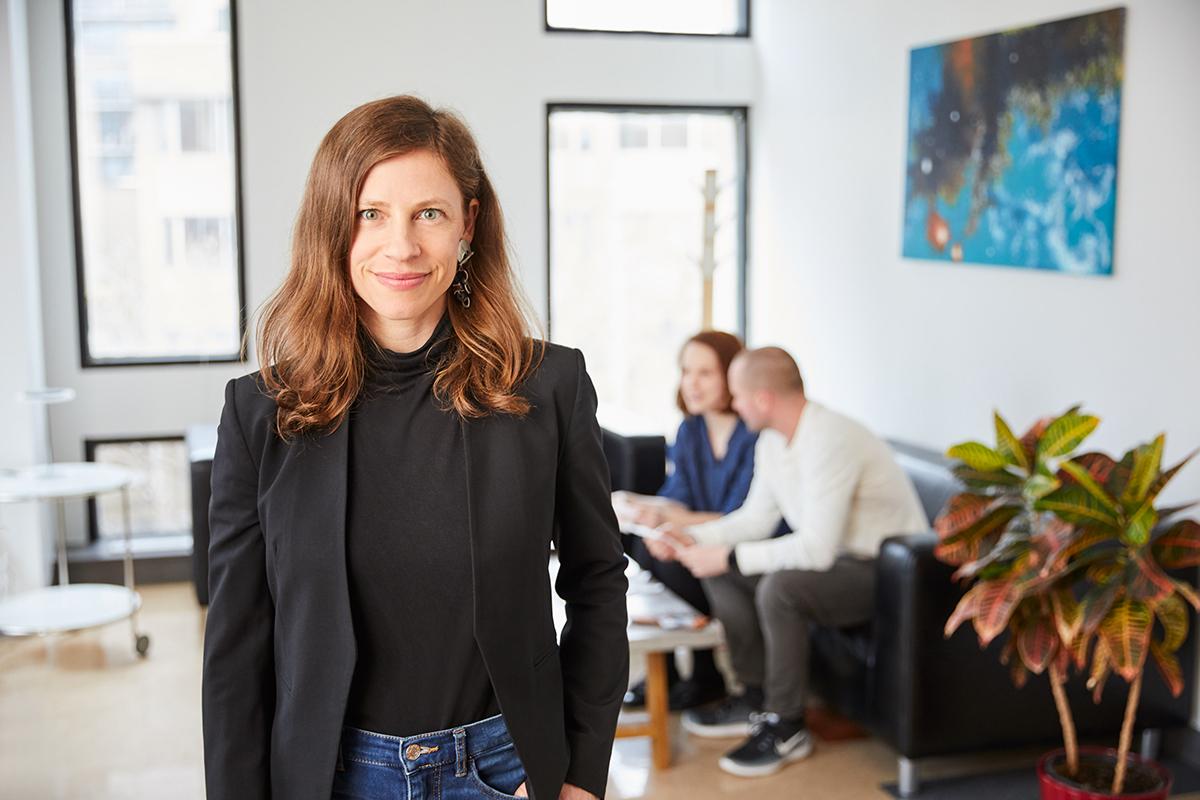 Maude Pugliese directrice de l'ORFQ et professeure au Centre urbanisation Culture Société de l'INRS