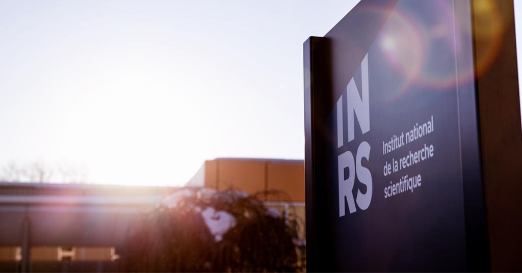Direction générale de l'INRS - Enseigne de l'INRS